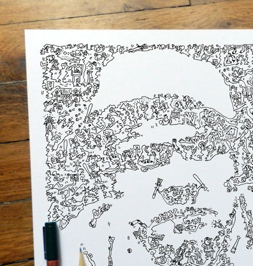 babe ruth portrait by drawinside