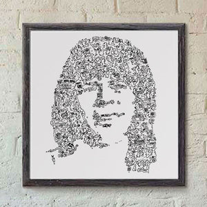 Bjorn Ulvaeus print guitar player of ABBA