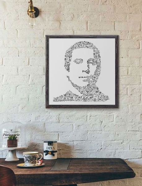 paul simon art poster from Simon and Garfunkel