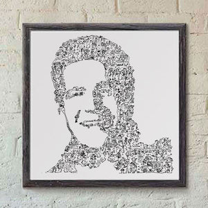 Glen Frey art print by drawinside