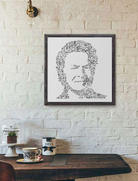 Don Henley poster by drawinside
