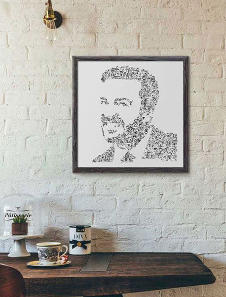 David Brent poster form the office UK