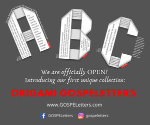 GOSPELetters - Good News in Every Letter - Share the Gospel and Support Missions