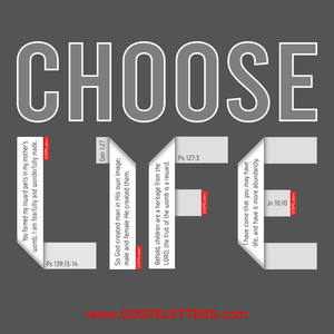 Choose Life, Protect Life & Love Life.  Pro-Life & Protect Babies Movement. Students for Life, Planned Parenthood.