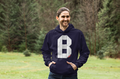 GOSPEL Unisex Hoodie - Good News in Letter B - GOSPELetters