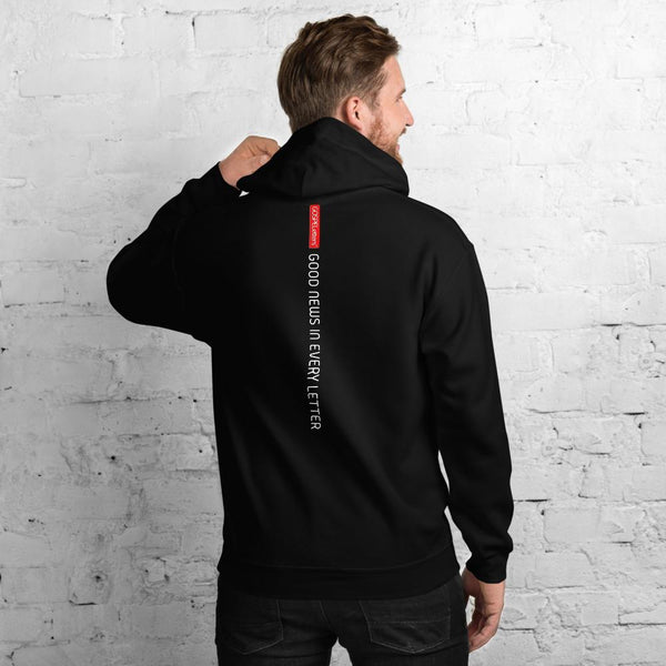 GOSPEL Unisex Hoodie - Good News in Letter I - GOSPELetters