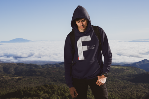 GOSPEL Unisex Hoodie - Good News in Letter F - GOSPELetters