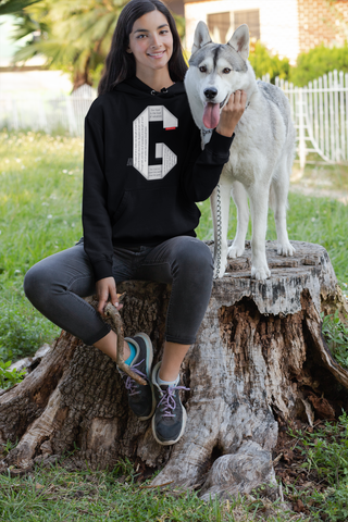 GOSPEL Unisex Hoodie - Good News in Letter G - GOSPELetters