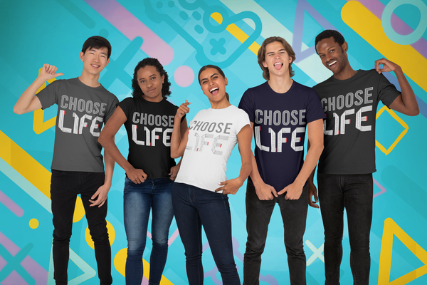 CHOOSE LIFE Short-Sleeve Unisex GOSPEL T-Shirt - GOSPELetters