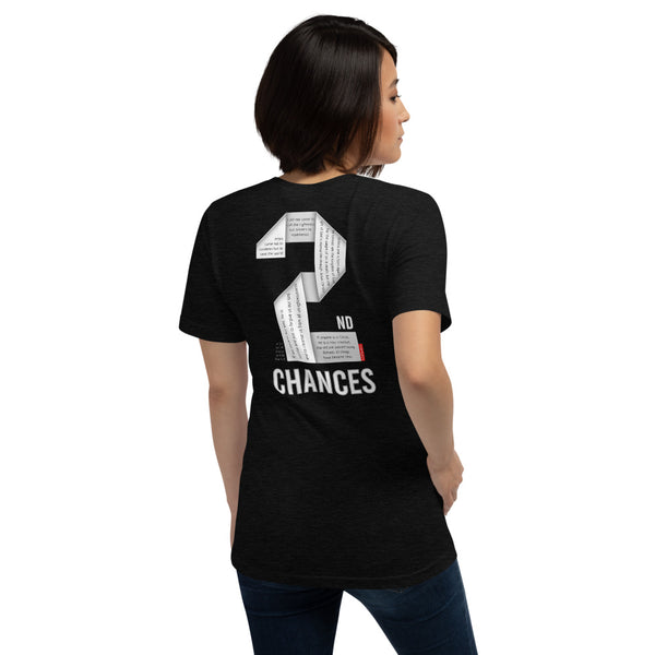 GOSPEL in Number 2 - Unisex Short-Sleeve T-Shirt - Always Hope with 2nd Chances in God - GOSPELetters