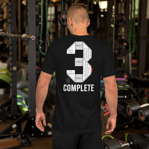 GOSPEL in Number 3 Unisex Short-Sleeve T-Shirt - Complete - GOSPELetters