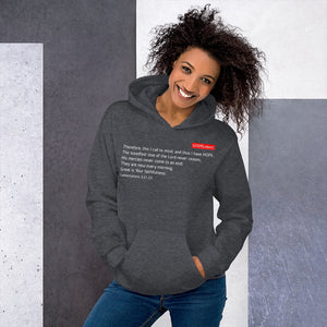 GOSPEL in Number 2 Unisex Hoodie - Always Hope with 2nd Chances in God - GOSPELetters
