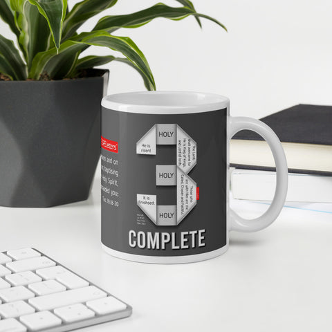 GOSPEL in Number 3 Mug - Complete - GOSPELetters