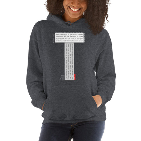 GOSPEL Unisex Hoodie - Good News in Letter T - GOSPELetters
