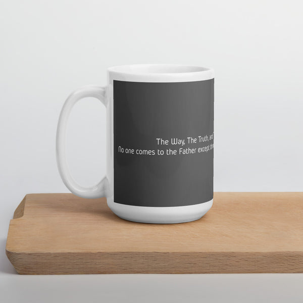 GOSPEL in Number 1 Coffee Mug - ONE WAY - GOSPELetters