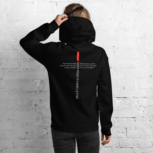 GOSPEL Unisex Hoodie - Good News in Letter L - GOSPELetters