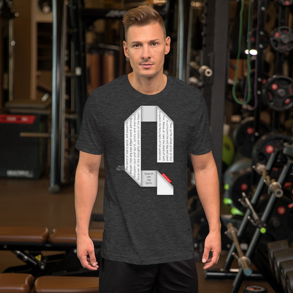 GOSPEL Unisex Short-Sleeve T-Shirt - Good News in Letter Q - GOSPELetters