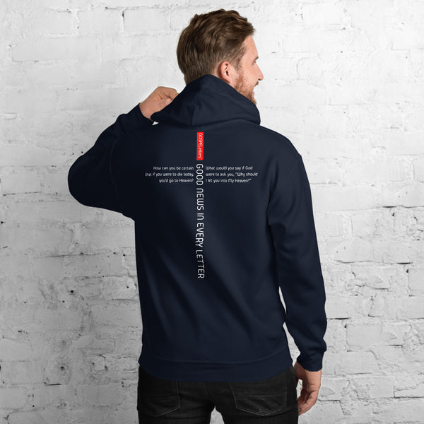 GOSPEL Unisex Hoodie - Good News in Letter C - GOSPELetters