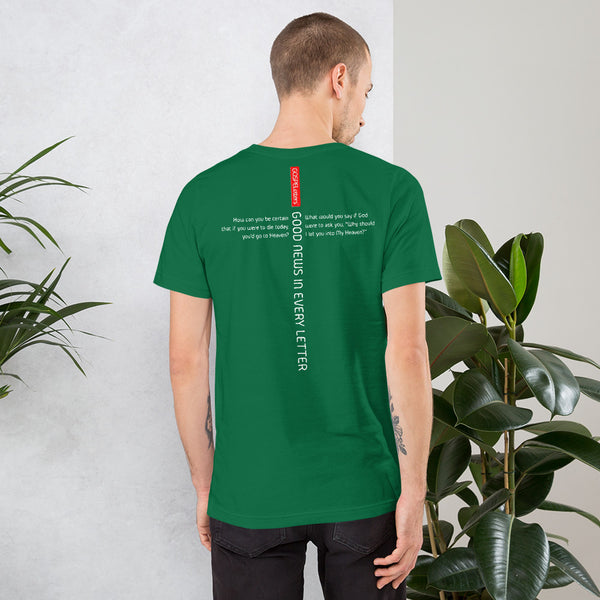 GOSPEL Unisex Short-Sleeve T-Shirt - Good News in Letter Y - GOSPELetters