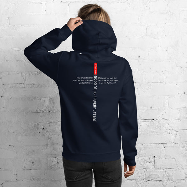 GOSPEL Unisex Hoodie - Good News in Letter D - GOSPELetters