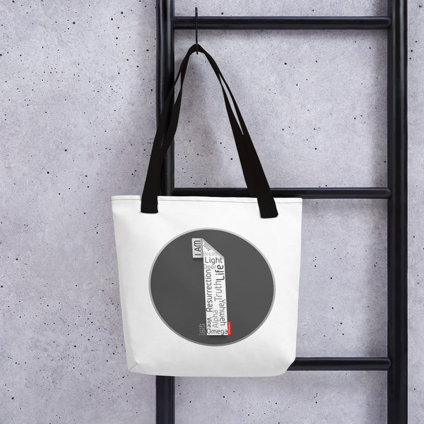 GOSPEL Tote Bag with Good News in Letter I - GOSPELetters