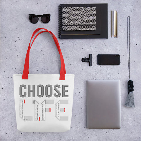 CHOOSE LIFE Tote bag - GOSPELetters