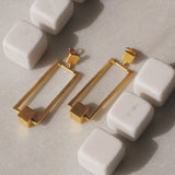 Cube World Earring