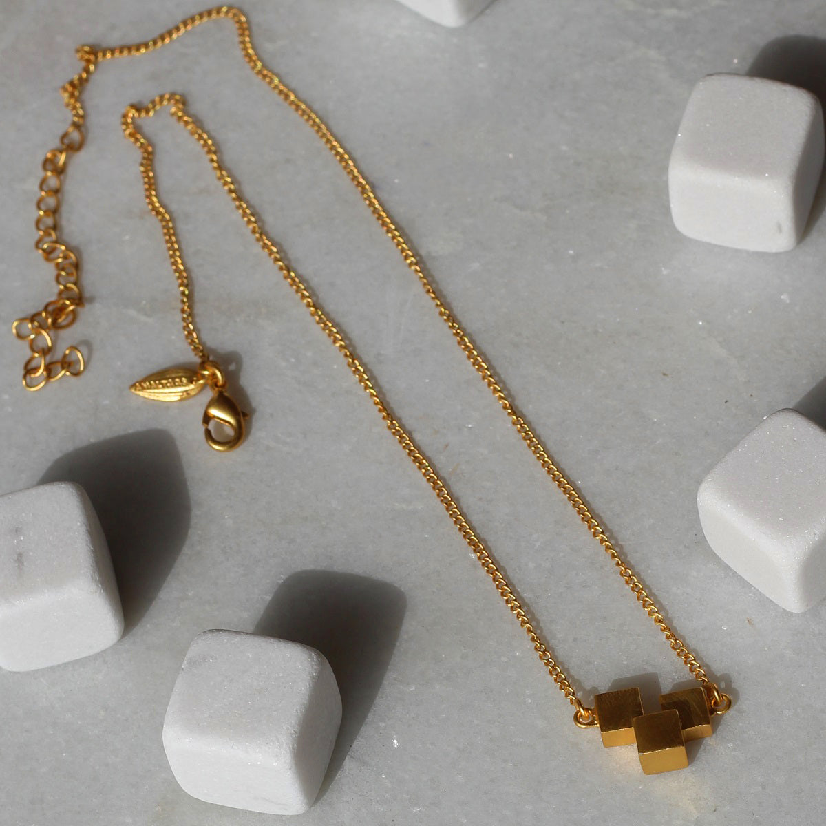 Cube Steps Necklace
