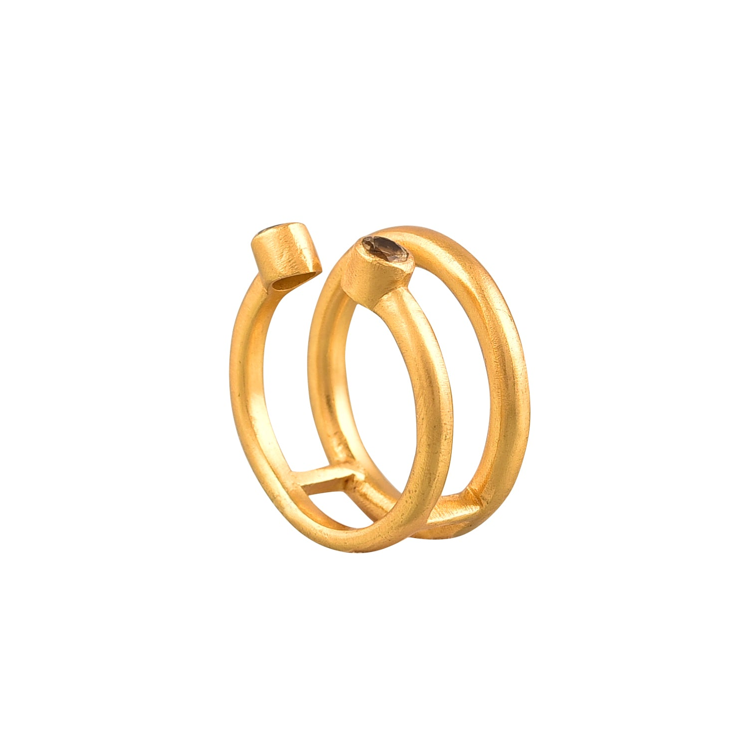 Twice Ring Citrine