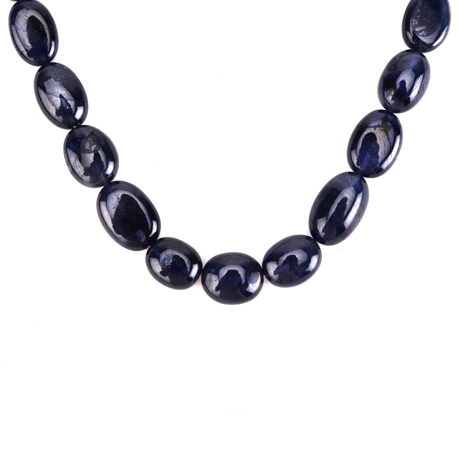 Blue Sapphire Long Bead Mani (Single)