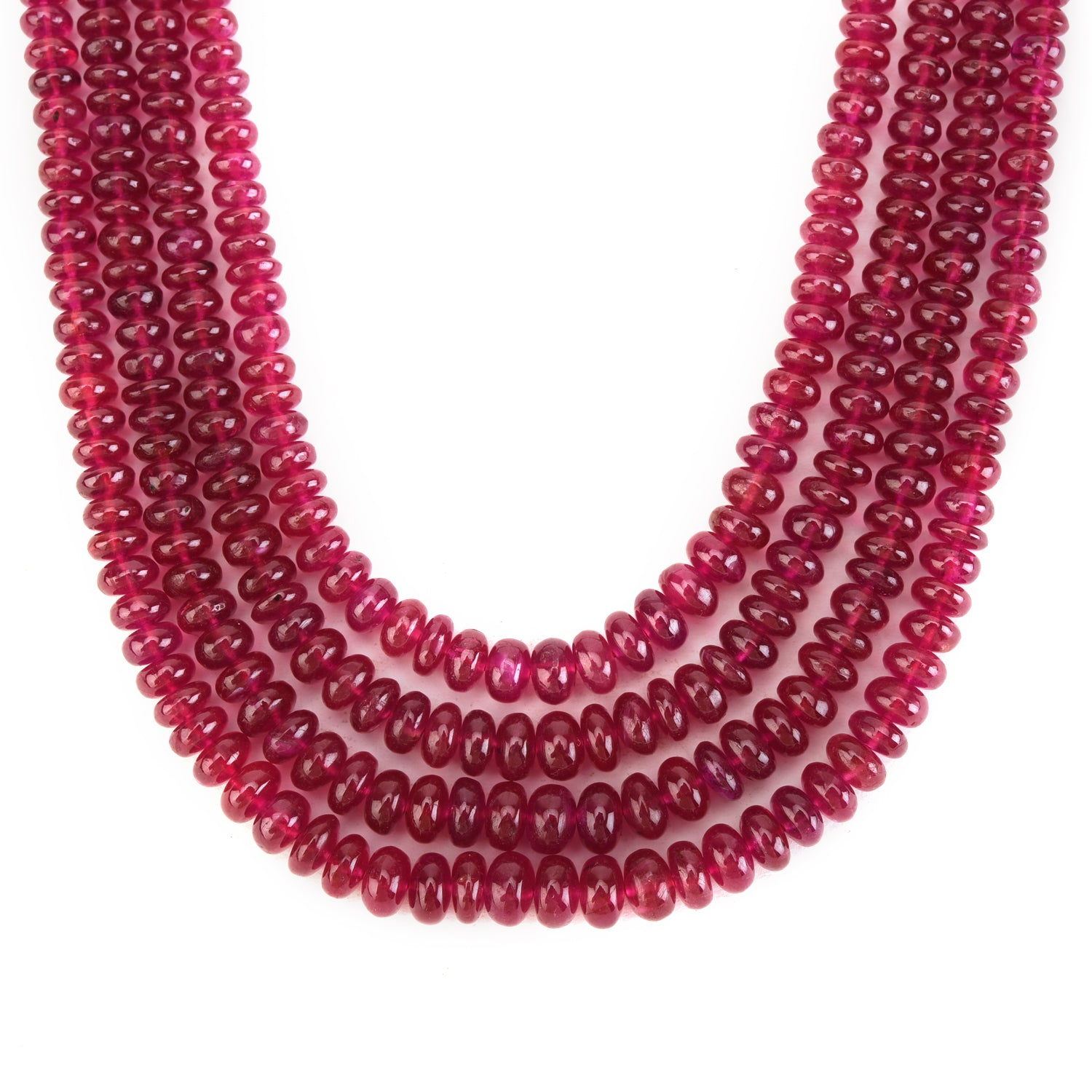 Ruby Beads Four Times Lovely