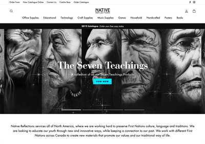 New Native Reflections Website