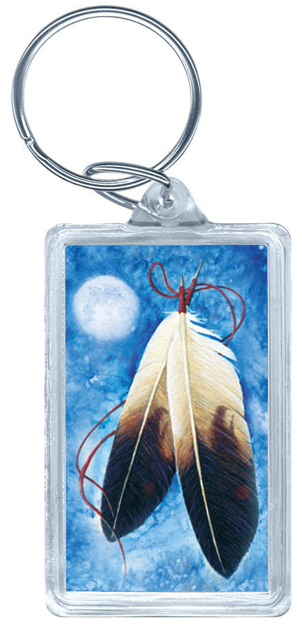 Acrylic Key Tag (Blue)