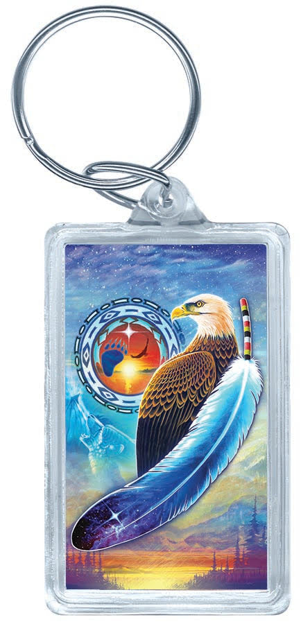 Acrylic Key Tag (Eagle)