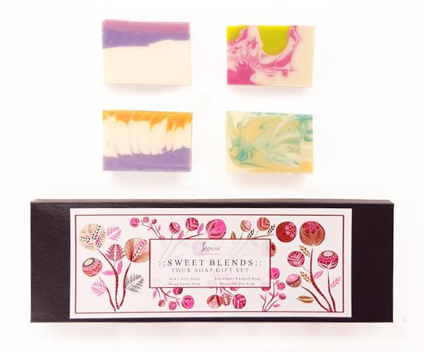 Sweet Blends - Four Soap Gift Set