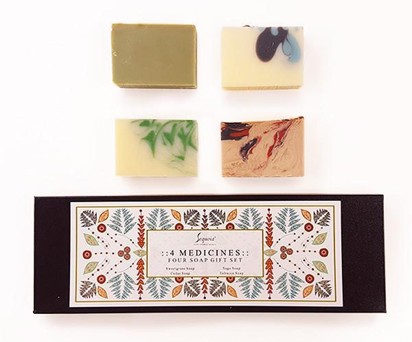 Four Medicines - Four Soap Gift Set