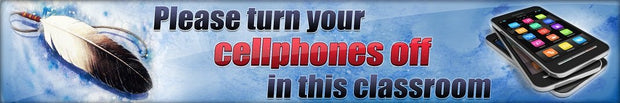 Banner Header - Cellphones Off