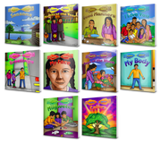 English to Ojibwe Book Series