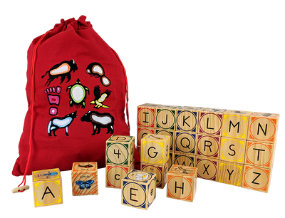 Wood Alphabet Blocks