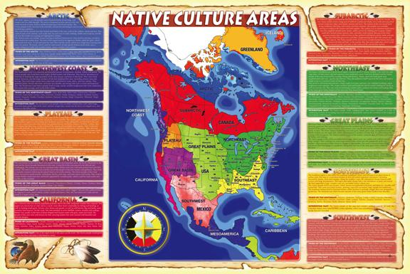 Culture Areas Overlay Map