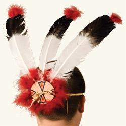 Warrior's 3-Feather Headdress