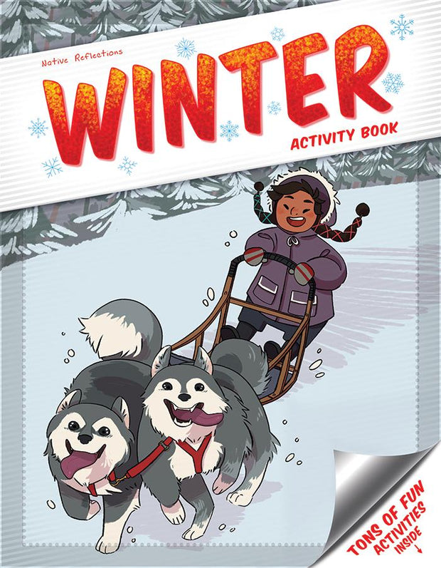 Little Sister Activity Book (Winter)