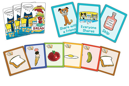 Pete the Cat the Big Lunch Game