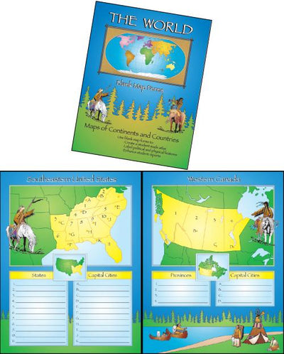World Map Book