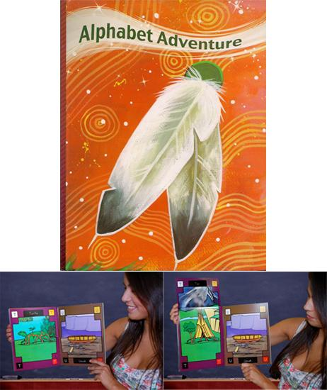 Flip Book - Alphabet Adventure