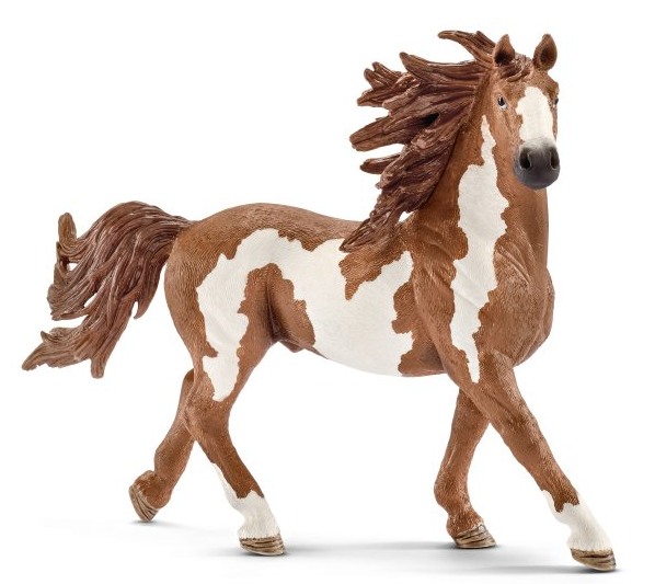 Pinto Stallion Figurine