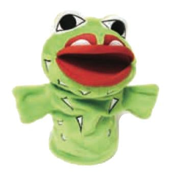 Wakus The Frog - Hand Puppet
