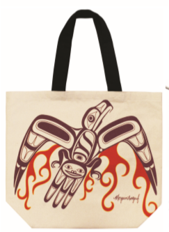 Canvas Tote Bag - Eagle