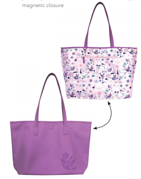 Reversable Tote Bag Hummingbird