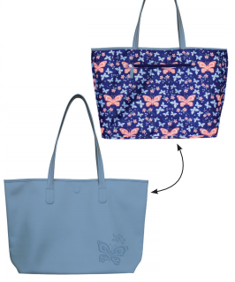Reversable Tote Bag Butterfly
